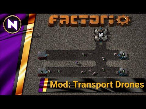 Factorio Mod Tutorial: Transport Drone Tutorial - Factorio Engineering