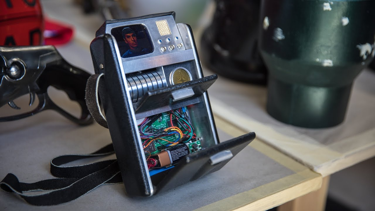 This is a really lovely Raspberry Pi tricorder - Raspberry Pi
