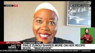 Fikile Zungu on her cooking book 'Maid2Cook'