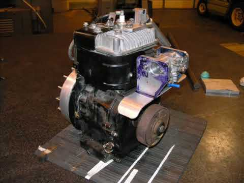 Hot Rod Supercharged Briggs and Stratton 5hp - YouTube