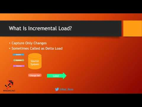Webinar Recording: Incremental Load with SSIS