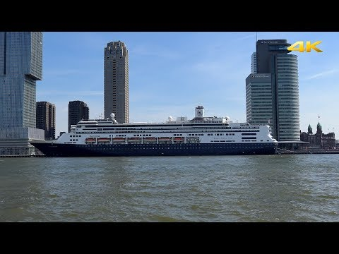 """Cruise Liner ms """"Rotterdam"""" Setting Sail for Norway from Rotterdam on May 12, 2018"""