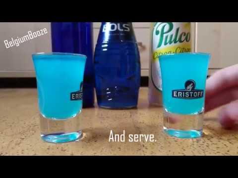BLUE BOLS KAMIKAZE SHOT RECIPE! (Easy Tutorial) [To Start All Your Parties = BlUe KaMiKaZe ShOt]