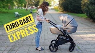 Euro-cart EXPRESS wózek 2w1 - recenzja