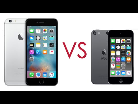 iPhone 6 plus vs iPod touch