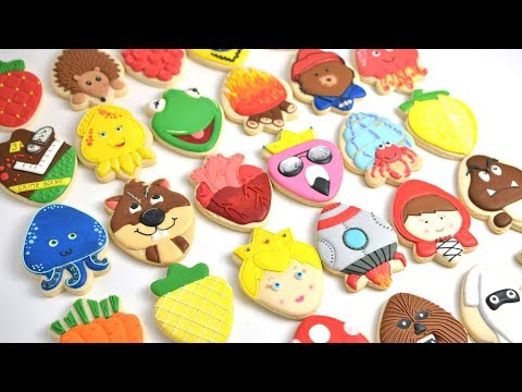 30 Amazing Cookies with ONE COOKIE CUTTER by Haniela's [part2]