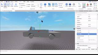 How to Make a Realistic Car in Roblox Studio - Speed Build Part 2 - Framing and Basic Seating