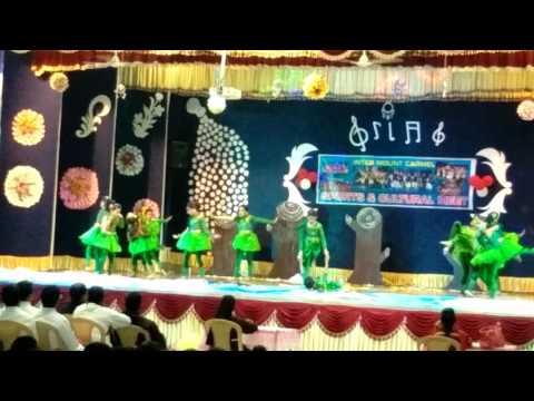 Theme dance on save trees by mcs jindwari