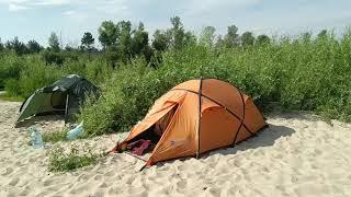 Десна с палаткой Воропаев   Desna River Camping