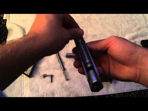 Smith and Wesson 9mm disassembly and reassembly