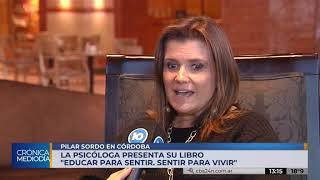 Pilar Sordo presenta su libro en Córdoba