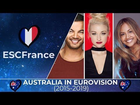 Australia In Eurovision | All Entries (2015-2019)