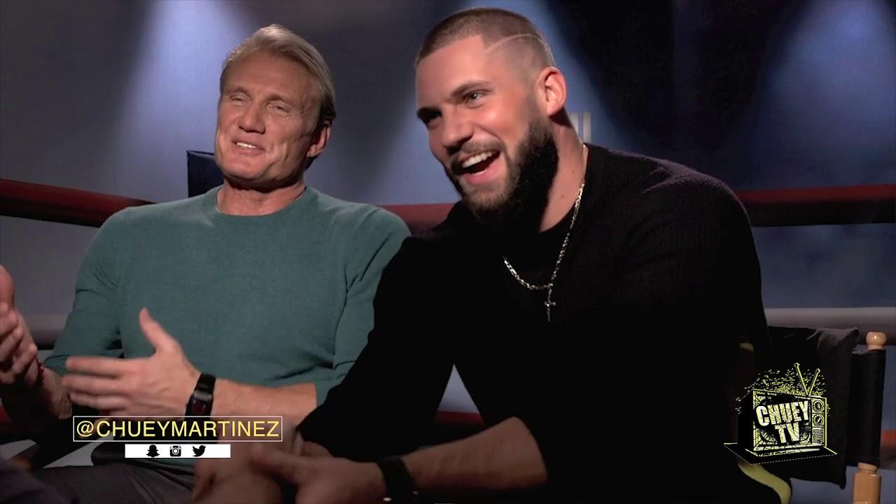 Download Creed 2: Dolph Lundgren & Florian Munteanu with Chuey Martinez *CHUEYTV*