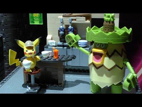 Mega Construx Pokemon Detective Pikachu Office GGK26