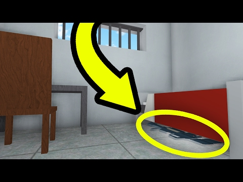 THE SECRET GUN IN ROBLOX PRISON LIFE!!