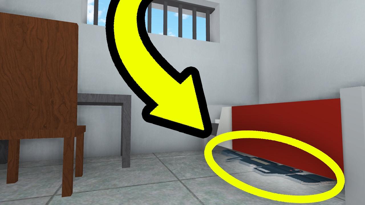 THE SECRET GUN IN ROBLOX PRISON LIFE!! - YouTube