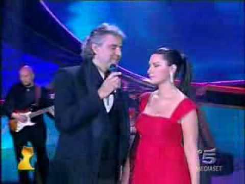 Andrea Bocelli és Laura Pausini - Dare To Live (Vivere)