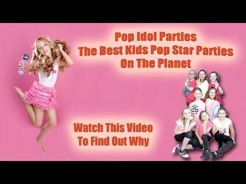 Pop Star Kids Parties Sydney and Newcastle - Pop Idol Parties