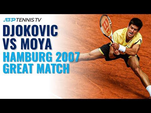 Novak Djokovic vs Carlos Moya: Hamburg 2007 Quarter-Final | Classic Tennis Highlights