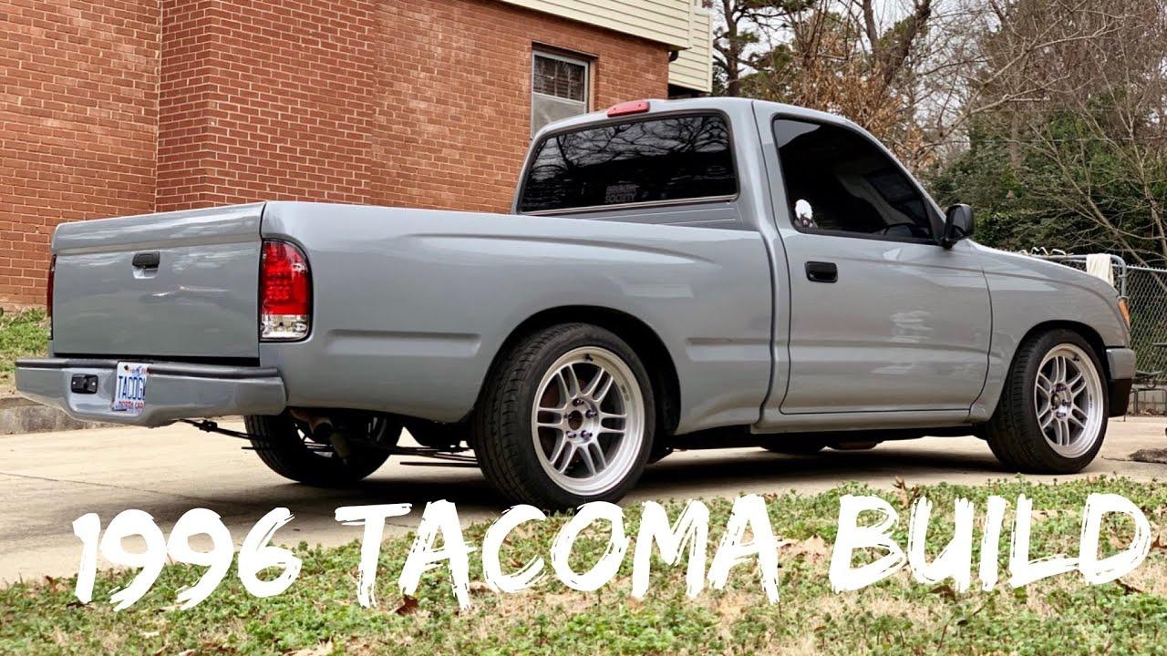 my 1996 toyota tacoma mini truck build  [ 1280 x 720 Pixel ]