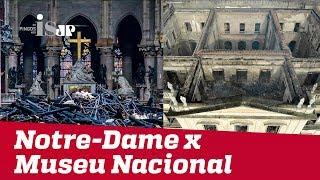 Notre-Dame x Museu Nacional