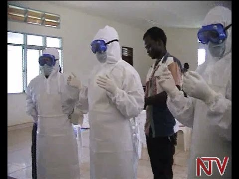 Health ministry gives ebola surveillance equipment to border districts