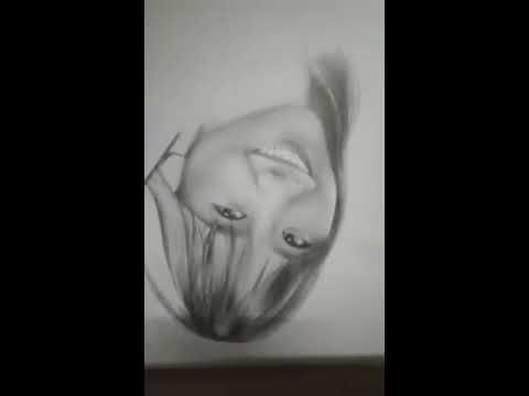 Vẽ chân dung Hari Won