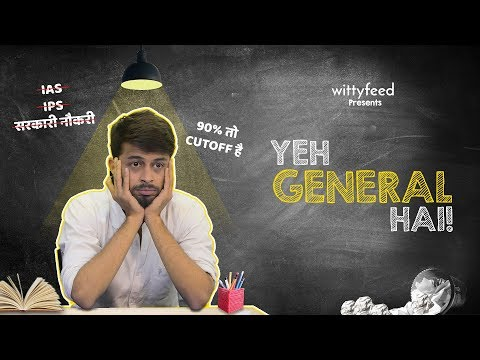 Yeh General Hai | WittyFeed | Funny Sketch Video