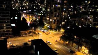 Fireworks & Honking - Sound of Vancouver when the Canucks win the Western Conference finals