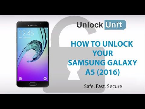 How To Unlock Samsung Galaxy A5 2016 Youtube