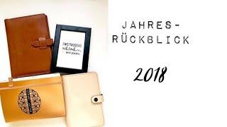 Jahresrückblick 2018 | Trends | Planerstruggle 2019 | deutsch
