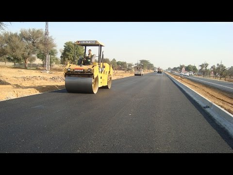 Bitumen ROAD Construction process // in INDIA