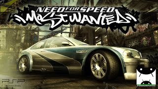 Need for Speed Most Wanted (PPSSPP Emulator) Android GamePlay