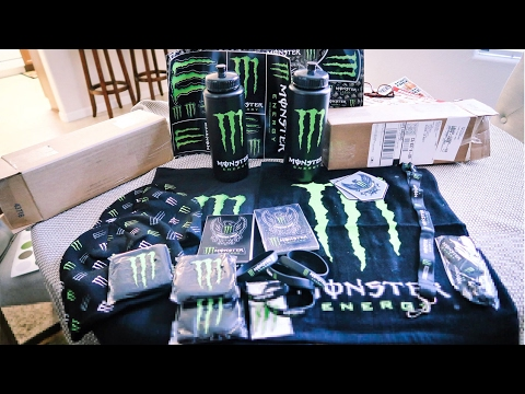 Random Monster Monster Army Care Package Unboxing