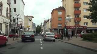 Скачать Offenbach Am Main Tour Durch City Lauterborn Waldstraße Odenwaldring HD