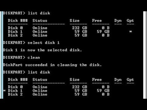 Windows Can't delete hard drive partitions and formatting for clean  install, diskpart commands