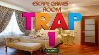 Escape Games Room Trap 1 Walkthrough - Firstescapegames