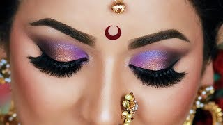 Indian Bridal Makeup Tutorial | Maharashtrian Bridal Look