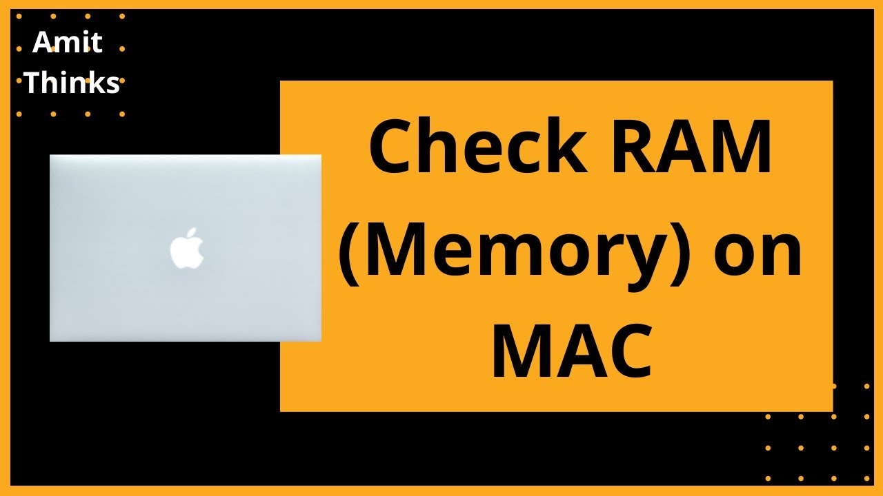 See How Much RAM is Installed in Your Mac - YouTube