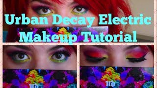 Urban Decay Electric Makeup Tutorial Thumbnail