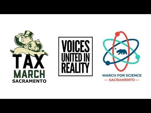 March for Science Sacramento on KUBU 96.5 2018