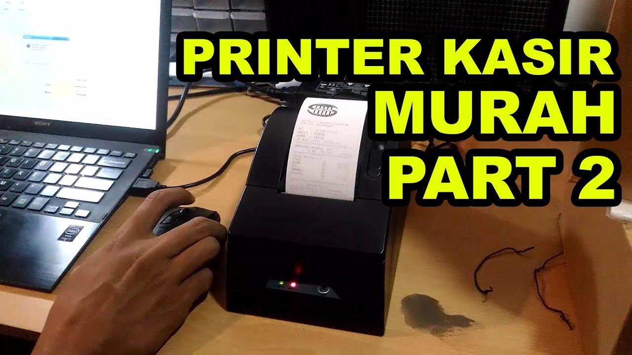 Printer Kasir Murah Dibawah 400rb Pos 5890 Thermal Android Desktop Bluetooth Receipt Ultron Cx 58d Part 2
