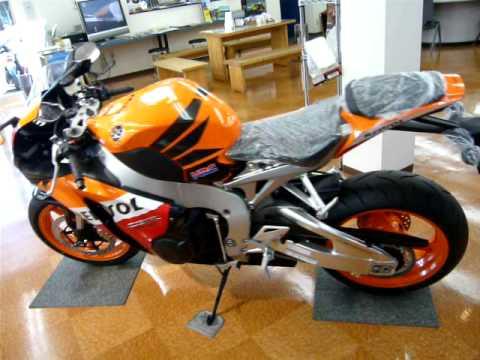2008 Honda Cbr1000Rr >> 2008 Honda CBR1000RR Repsol in sayama japan - YouTube