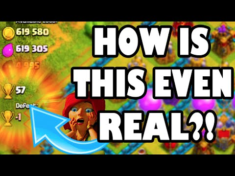Clash of Clans - HOW IS THIS EVEN REAL?!