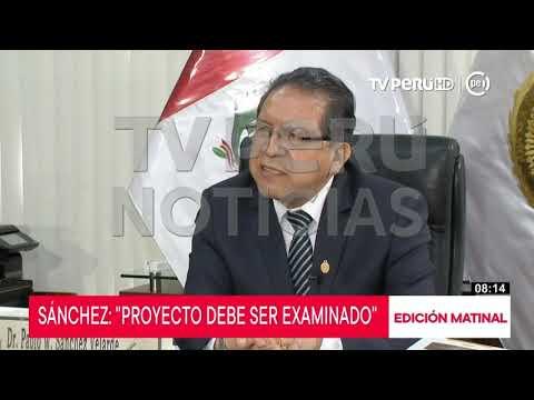 Pablo Sánchez reitera que no filtró audios sobre Pedro Chávarry