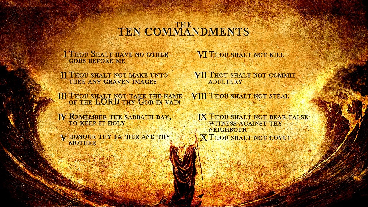 What is Ten Commandment | Judaism & Christianity - YouTube