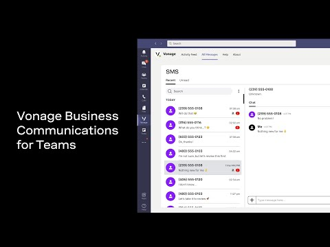 Vonage Makes Microsoft Teams Smarter and a Central Hub for Communications