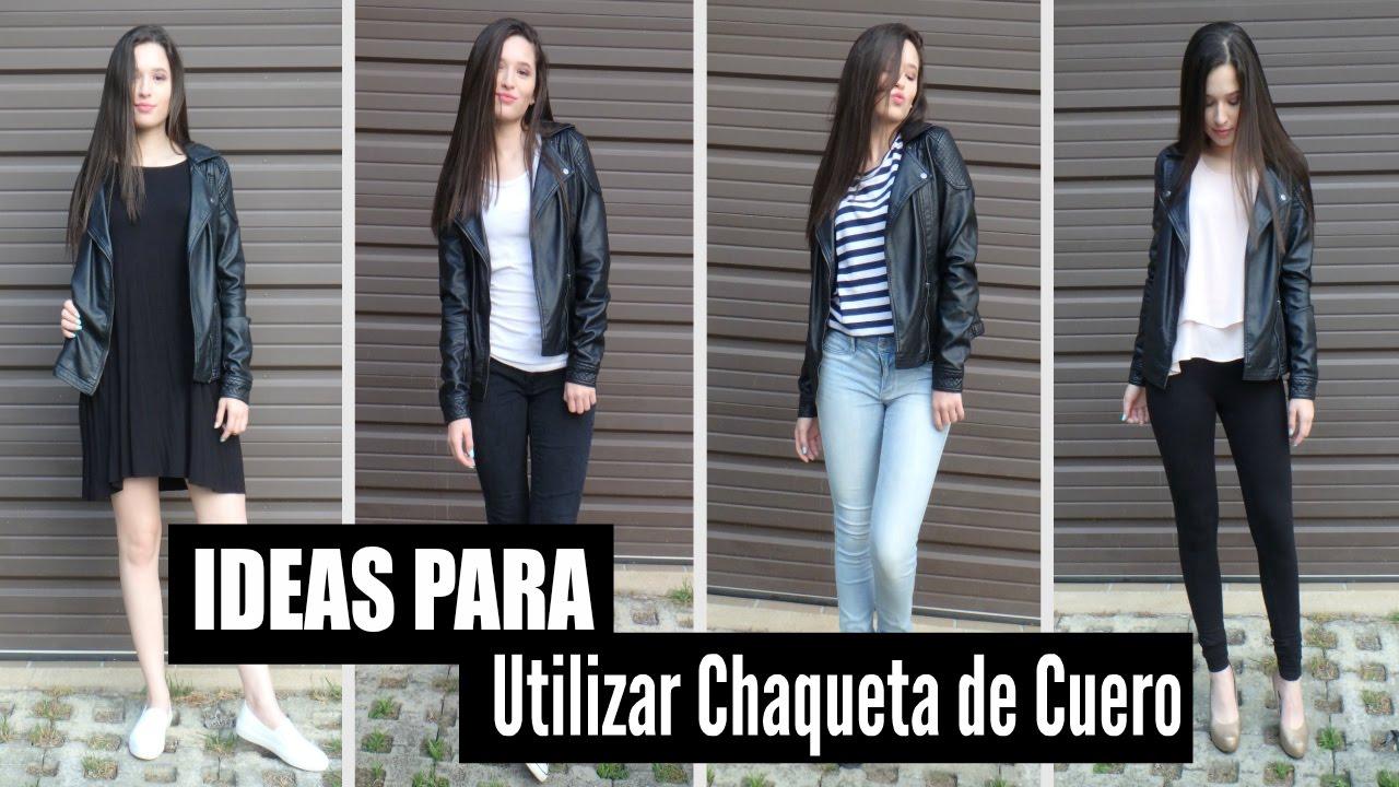 Ideas Para Utilizar Chaqueta De Cuero Outfits Tips Y
