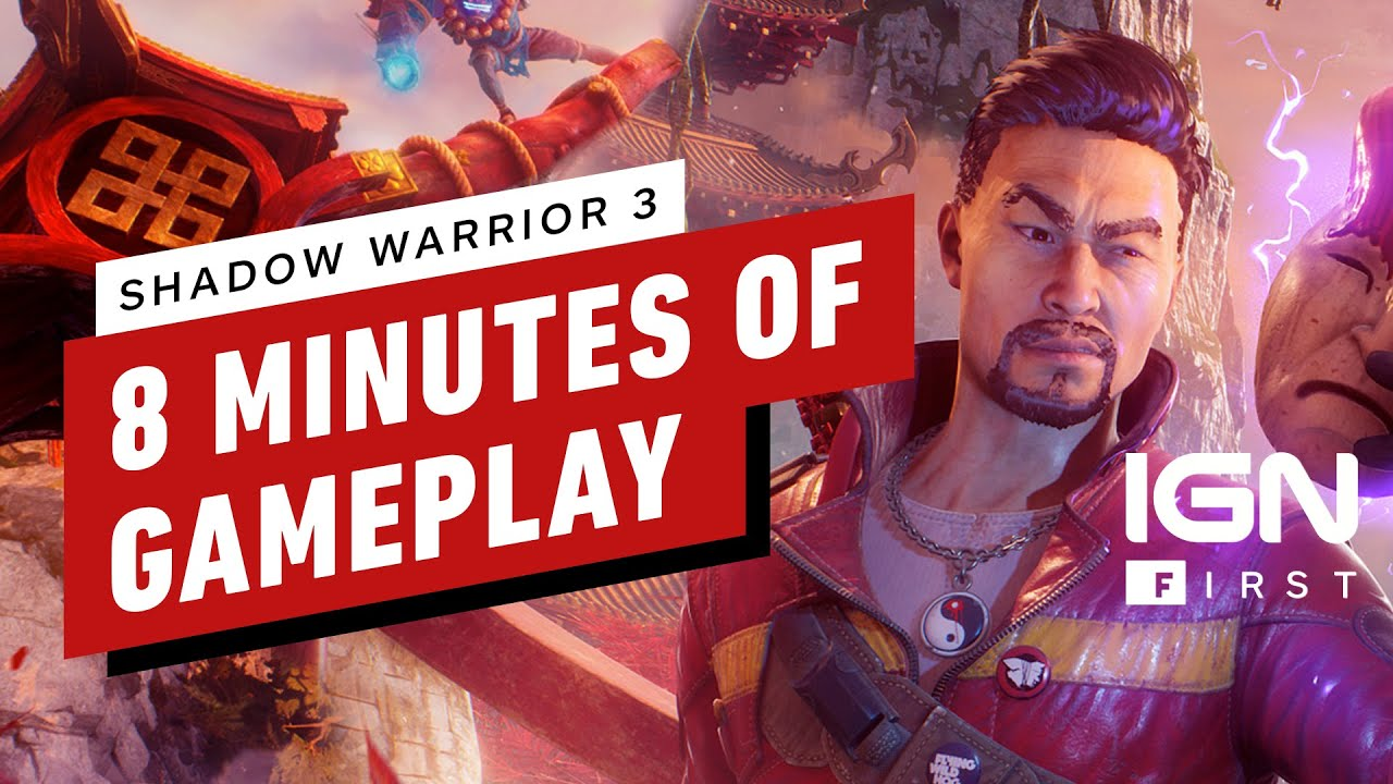 Download 8 Minutes of Shadow Warrior 3 Gameplay - IGN First Supercut