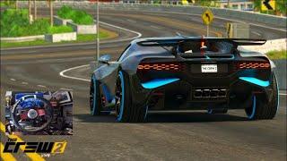 The Crew 2 GoPro - NEW Bugatti Divo vs Lamborghini Egoista -  Customization/TopSpeed Run!
